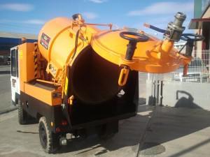 camion cuba especial para achiques de agua | Abasa Gestión